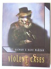 VIOLENT CASES - PAPERBACK BOOK/GN BY NEIL GAIMAN & DAVE McKEAN. 1987. TITAN. NEW