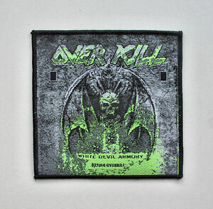 OVERKILL -- Official Woven Patch / Exodus Testament Nuclear Assault Annihilator