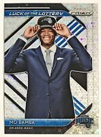 2018-19 Prizm Mo Bamba RC Fast Break Parallel Luck Of The Lottery Magic Texas #6