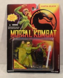 Mortal Kombat - Sonya Blade Includes Real Action Pop-Ups (Mint On Card) Hasbro