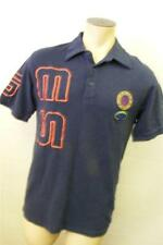 mens Adidas Ges Js Jeans Polo Team Navy Stretch Polo shirt Navy Xl X Large Clean