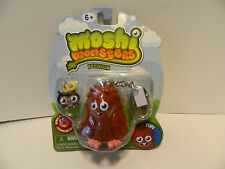 Moshi Monsters Furi  Keychain with charm        *New In Pack*