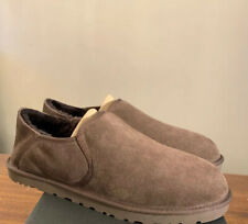 UGG MEN 3010 KENTON CHOCOLATE SHEEPSKIN COMFORT SHOES SLIPPERS, SZ 13 AUTHENTIC