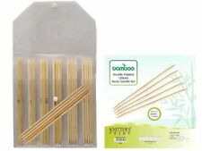 """Knitter's Pride 8""""/ 20 cm Bamboo Double Point Needle Set"""