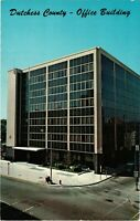Vintage Postcard - County Office Building Poughkeepsie New York NY #3798