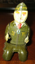 Tin Driver-Army-Jeep.Very Good Shape.