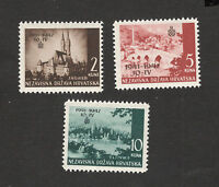CROATIA-NDH-MH*  SET-First Anniversary of Croatian Independence-1942.