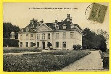 cpa Ecrite en 1917 CHÂTEAU de SAINT ALBIN de VAULSERRE (Isère) Castle Schloss