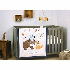 Little Love by NoJo Aztec Boy Baby Crib Bedding Musical Mobile Set Bear Fox Owl