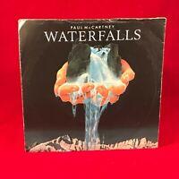 "PAUL McCARTNEY Waterfalls 1980 UK 7"" vinyl single EXCELLENT CONDITION"