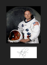 NEIL ARMSTRONG #1 Signed Photo Print A5 Mounted Photo Print - FREE DELIVERY