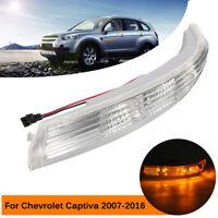 Specchio Retrovisore Sinistro Indicato Luce Per Chevrolet Captiva 07-16 Plastica