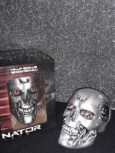 TERMINATOR GENISYS Half Scale Endo Skull T800 Crâne Lootcrate Exclusive 12 cm