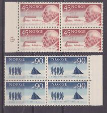 norway 1961 Sc 399/40 block of four,Mnh o959
