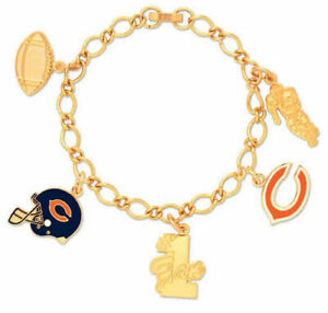 WinCraft NFL Chicago Bears Women's Charm Bracelet