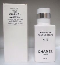 NO. 19 BY CHANEL EMULSION POUR LE CORPS/BODY LOTION 6.8 oz/200 ml RARE