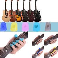 12Pcs Guitar Celluloid Thumb Picks Protectors Finger Plectrum Band Liparite Set