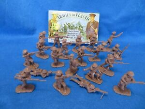 Armies in Plastic #5406 WWI British Infantry 20 figures in 10 poses, 1/32