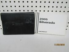 2005 Chevrolet Silverado Owners Manual Set  FREE SHIPPING
