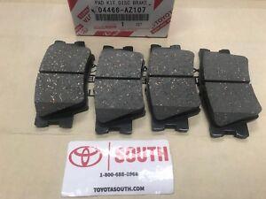 2006-2018 Toyota RAV4 Ceramic Rear Brake Pads Genuine  OEM Set Pads 04466-AZ207