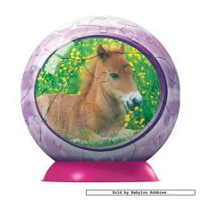 60 st puzzel: Puzzleball - Baby Horse (Paarden) (Ravensburger 097067-1)