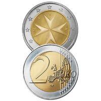 Ek // 2 euro Malte : Sélectionnez une pièce nueve