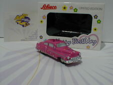 "Schuco Piccolo 01433 # Cadillac 54in pink "" Happy Birthday 2018 "" Lim. Ed. 1000"