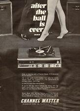 1973 vintage sound system AD Channel Master Avnet 8 track recorder more! 053117