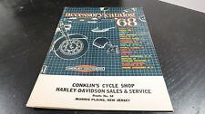 1968 Harley Davidson Accessory Catalog