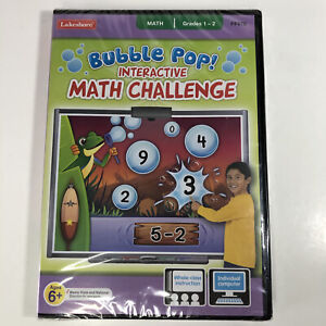Bubble Pop! Interactive Math Challenge Computer Software Game, 6+ yrs. Lakeshore