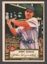 1952 Topps #13 Johnny Wyrostek red back