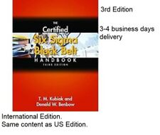 (CD INCLUDED)(4-6 days delivery)  The Certified Six Sigma Black Belt Handbook