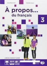 A PROPOS... DU FRANCAIS 3, ELI MEDIE, CRIMI, CODICE:9788853618108