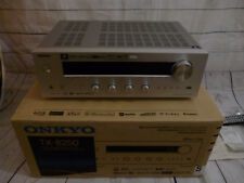 Onkyo TX-8250Netzwerk-Stereo-Receiver-Silber-2 Monate alt