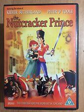 Kiefer Sutherland Peter O'Toole NUTCRACKER PRINCE ~ 1990 Animated Classic   DVD