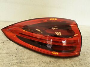 2015 16 PORSCHE CAYENNE LEFT TAIL LIGHT DRIVER LED LAMP REAR OEM 4596