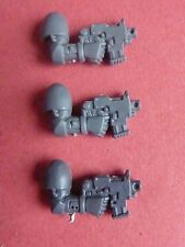 SPACE Marine generica Power Armour RH 3 x Bullone Pistols-bit 40k