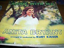 Anita Bryant-Abide With Me-LP-World-SMAS 93457-Vinyl Record-Gatefold-VG+