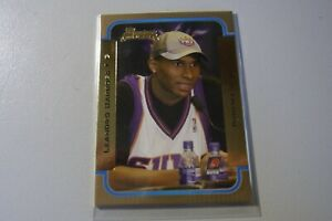 2003-04 Bowman Gold Parallel #135 Leandro Barbosa Suns Rookie Card