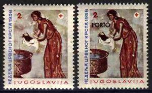 2292 YUGOSLAVIA 1958 Red Cross **MNH
