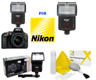 HD XENON SPEEDLITE WIRELESS ZOOM SWIVEL FLASH FOR NIKON D3400 D5600 DSLR