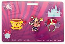 Minnie Mouse The Main Attraction Pin Set Mad Tea Party Limited Release PreOrder