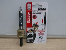 UNPACKAGED TREND SNAPPY QUICK CHUCK SNAP/QC & MAG BIT HOLDER SNAP/MSH