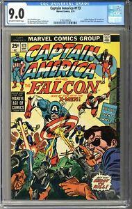 Captain America #173 CGC 9.0
