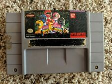 Mighty Morphin Power Rangers Fighting Edition SNES Super Nintendo Untested