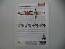 advertising Pubblicità 1985 MOTO APRILIA TX TRIAL 50/125/240/300