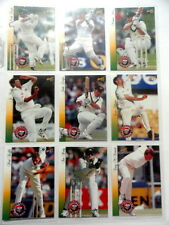 1997/98 Select Official ACB Series 1 Cricket Collector Cards Complete Base Set