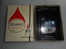 Vintage 1969 APOLLO XI MOON LANDING Zippo IN BOX - MINT - MUST SEE