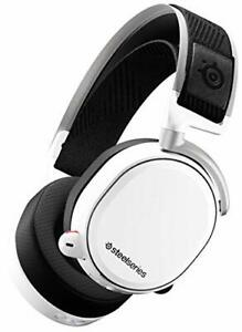NEW SteelSeries 61474 Gaming Headset Arctis Pro Wireless White from JAPAN