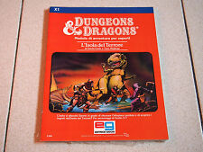 D&D Dungeons & Dragons:L'Isola del Terrore X1 TSR # 2550 COME NUOVO